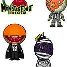 MonsterFruit Theater Large Sticker Sheet 3 by Allison Bair