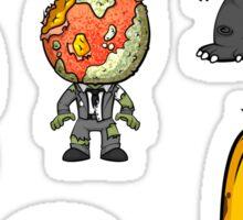 MonsterFruit Theater Small Sticker Sheet 2 Sticker