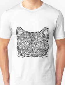 American Shorthair Cat - Complicated Coloring T-Shirt