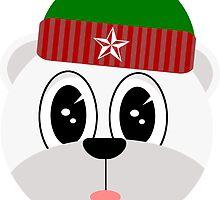Boris the polar bear by kadiko
