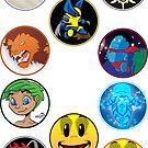 Mini Badges Set 1 by SEspider