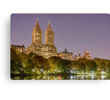 San Remo at Night, Central Park, Study 1 Canvas Print