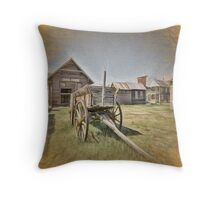 Back In 1880 Throw Pillow