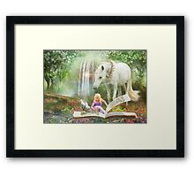 Chapters Framed Print