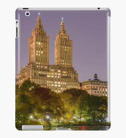 San Remo at Night, Central Park, Study 1 iPad Case/Skin