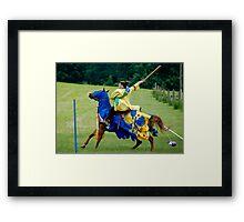 Equestrian Champion Framed Print
