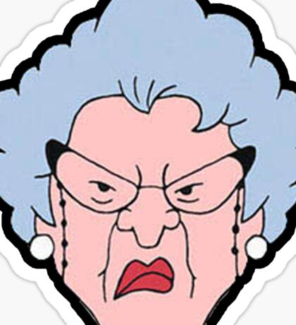 Ms.Finster Sticker