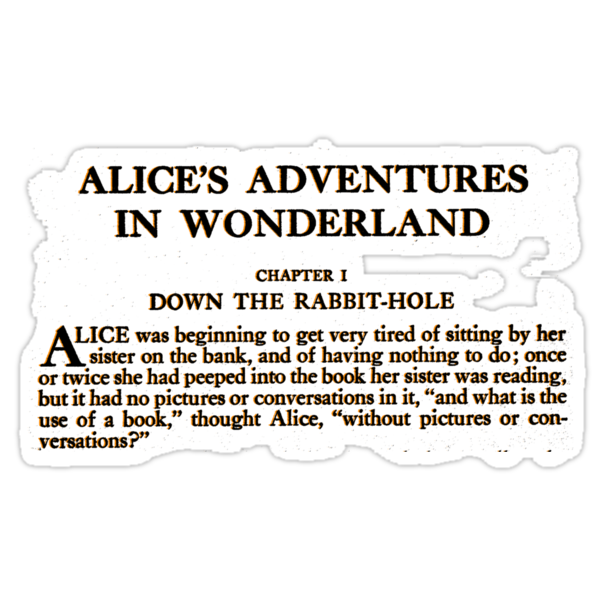 Alice In Wonderland by Catherine O'Hagan