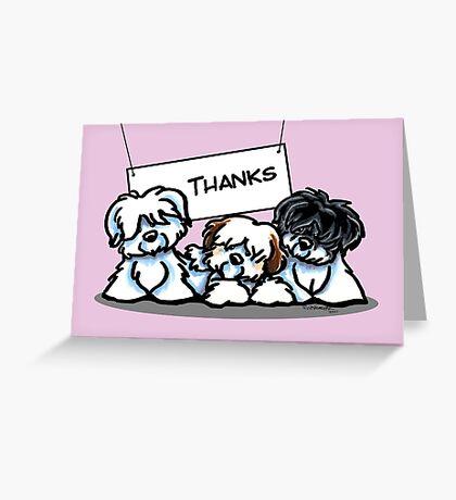 Coton de Tulear Thank You Cards Greeting Card