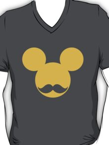 Moustache Mickey Mouse T-Shirt