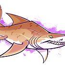 SAND TIGER SHARK by psurg