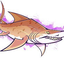 SAND TIGER SHARK by psurg