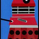 Dalek Sticker by Lascaux