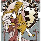 Ma Chère Sticker by Christadaelia