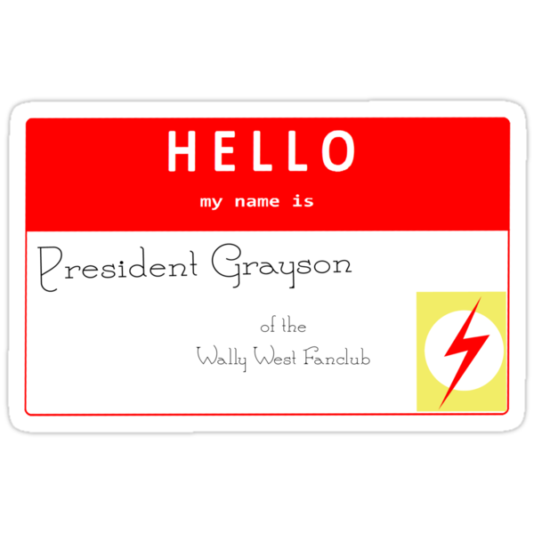 President Grayson Name Tag by IMTShop
