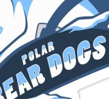 Team Polar Bear Dogs Sticker