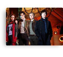 Team TARDIS Canvas Print