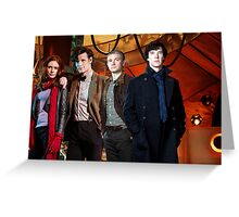 Team TARDIS Greeting Card