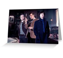221b Baker street. Greeting Card