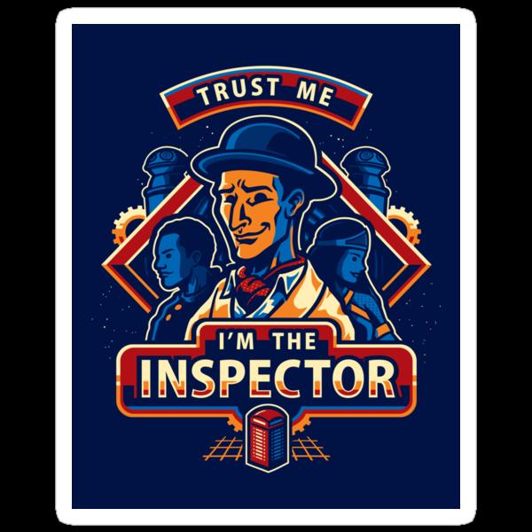 Trust The Inspector - STICKER by WinterArtwork