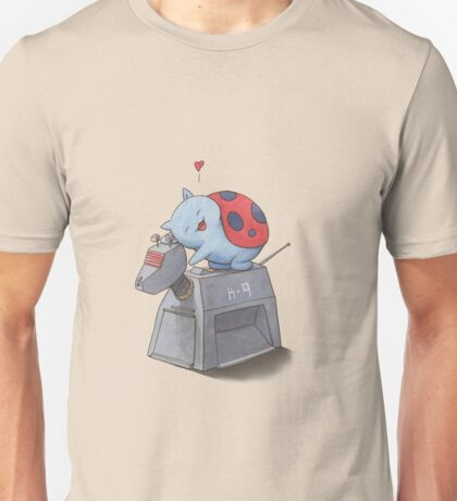 Catbug Loves K-9 Unisex T-Shirt