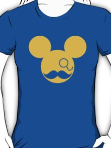 Moustache British Mickey Mouse T-Shirt