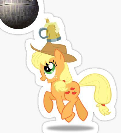 Applejack Didn't Learn Anything Sticker