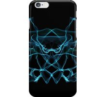 blue on Black iPhone Case/Skin