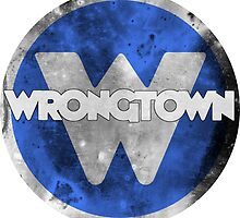 Wrongtown Crest - Now With Text by houseAU