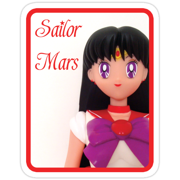 I am Sailor Mars  by bunnyparadise