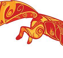 Paisley fox by Korikian
