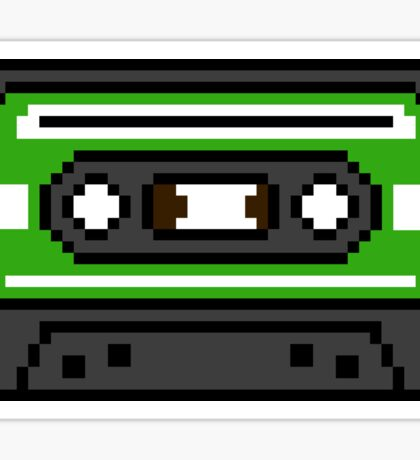 8 bit Old School Cassette Tape Sticker