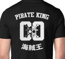 "One Piece Monkey D. Luffy ""Pirate King"" Shirt White Version Unisex T-Shirt"