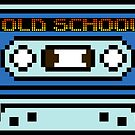 8 bit Old School Casette by PlatinumBastard