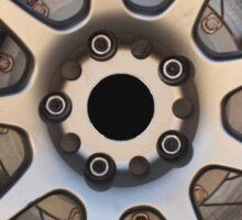 Weds Sport SA-70 racing wheel. AP racing caliper Sticker