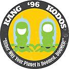 Vote Kang - Kodos '96 — Sticker by fohkat