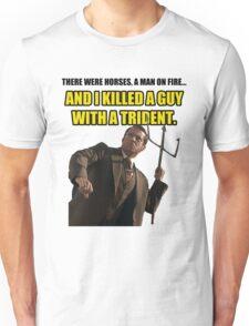 Brick trident Unisex T-Shirt