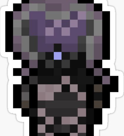 Pixel'Zorah Sticker