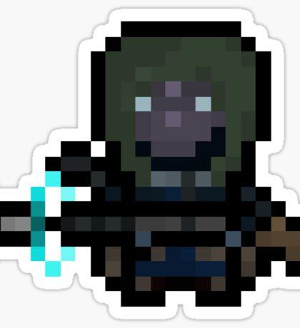 Pixel Scout Sticker
