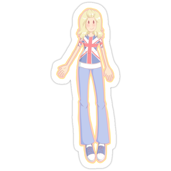 Rose Tyler (Peach) by Ginny Milling