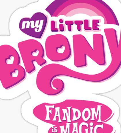 My Little Brony  Sticker