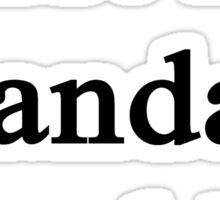 Trust Me Pandas Need Us Sticker