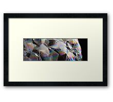 coloured bubbles 2 Framed Print