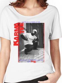 KARMA TEE feat Conscious Vibes Women's Relaxed Fit T-Shirt