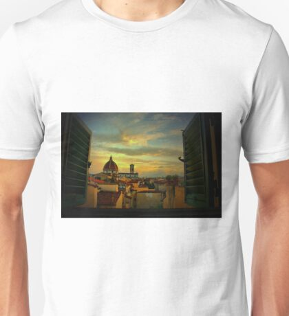 A Window on Florence Unisex T-Shirt