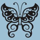 Japanese Tattoo Butterfly T-Shirt by AsianT-Shirts