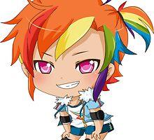 Rainbow Dash Gijinka by PocketCucco