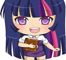 Twilight Sparkle Gijinka by PocketCucco