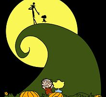 The Great Pumpkin King - Sticker Only by whitmore55