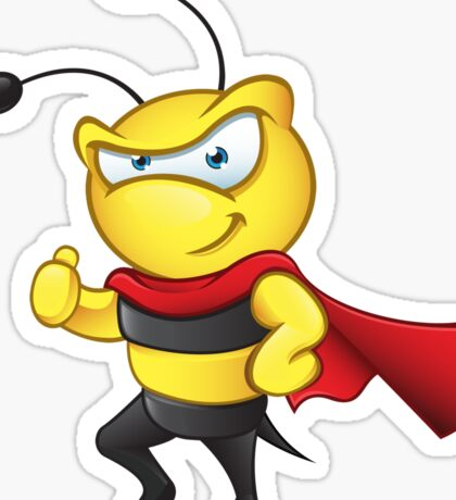 Super Bee - Thumbs Up Sticker